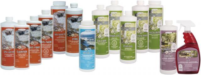 Sani-Marc spa products